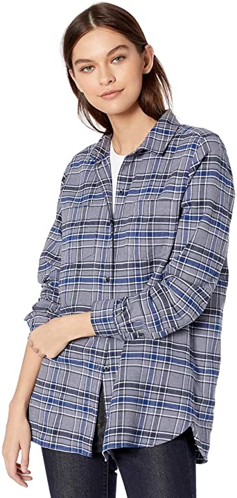 Goodthreads Heavyweight Flannel Two-pocket Relaxed Shirt - button-down-shirts Mujer