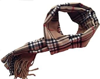LEGADO Bufanda cuadro escoces suave poliester comoda regalo combinable de invierno hombre y mujer calienta sin frio