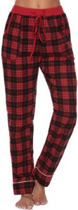 Pijama Mujer 100% Algodon cuadros escoceses